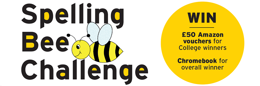 Website spelling bee logo